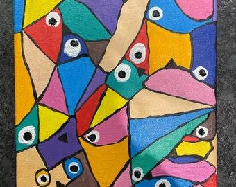 Puzzled Birdies