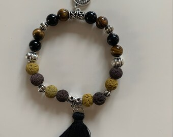 Chakra bracelets made from real gemstones