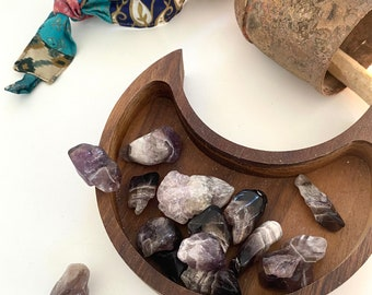 Small Tumbled Amethyst - 1 - (approx 8.5g to 34 g)