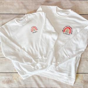 Halloween Monogram Sweatshirt Mommy and Me Autumn matching set Youth Pumpkin Monogram Fall Crew neck Sweatshirt