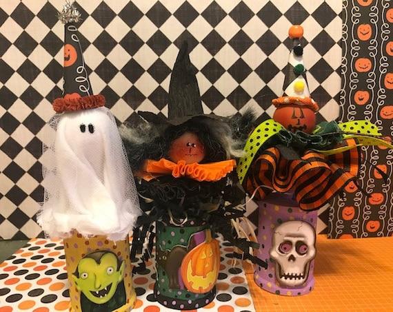 Halloween Spools Pattern