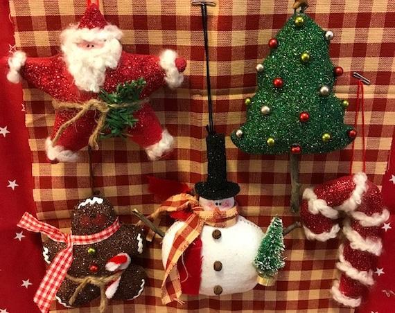 Christmas Ornies E-Pattern
