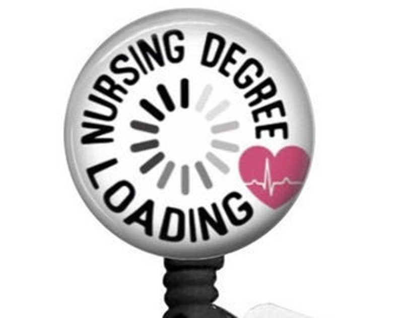 Student Nurse Nursing Student badge reels Nursing Degree Loading