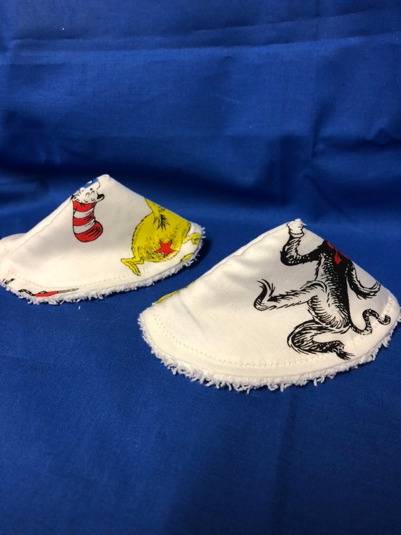 Set of 2 Handmade Baby boy teepee Dr Seuss themed!