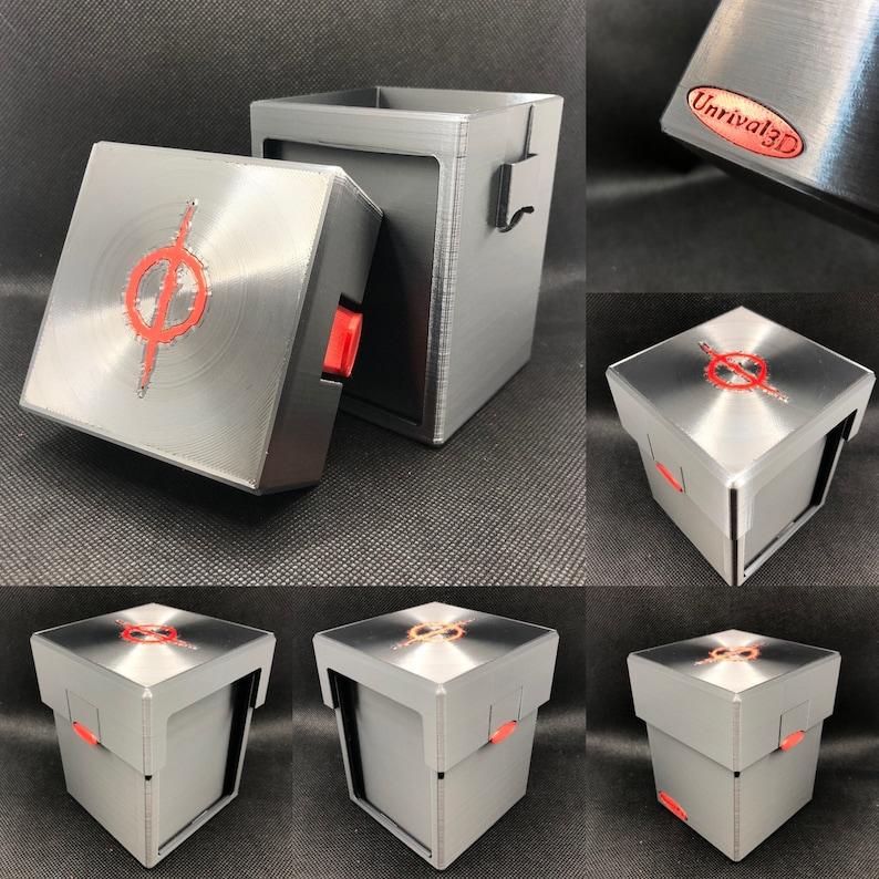 Exposed Commander Biohazardous outbreak Deck box