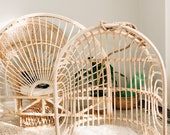 Rainbow Rattan Hanging Chair- Shipping not free