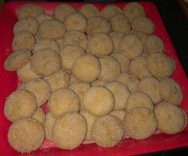 Hojarascas- Cinnamon Cookies- Polvorones