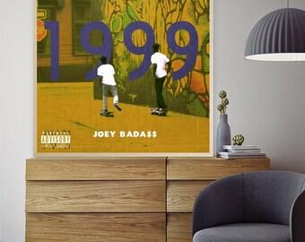 POSTER 24x36 Joey Badass All Amerikkkan Bada$$ Art Wall Indoor Room Poster