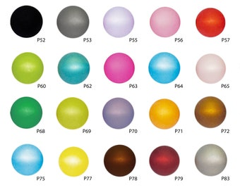 2841 100 Perlen ohne Loch   4 mm Eingießen Streudeko Rosa mehrfarbig