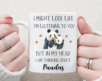 Panda Gift - Cute Panda Mug - Funny Panda Gifts - Panda Lover Gift - Panda Gift Idea - Panda Birthday Gift - Panda Cup