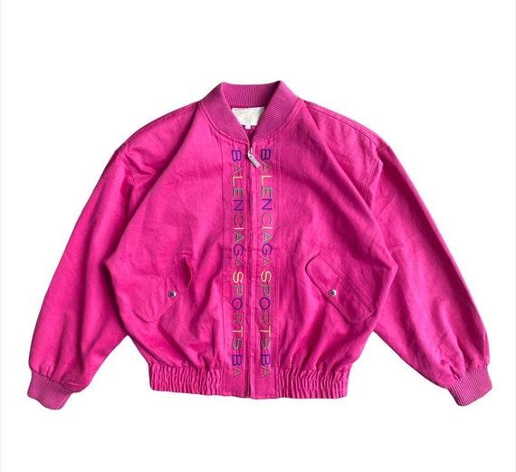 Vintage Balenciaga Logo Jacket