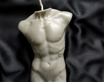 Torso Candle FemaleMale Body Sculptural Candle Sculptural candle Body Candle Goddess Soy wax Candle Instagram Aesthetic Candle