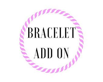 Pony Bead Bracelet Add On