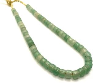 Big Pony Bead Necklace | Gemstone Pony Bead Necklace | Choker Necklace