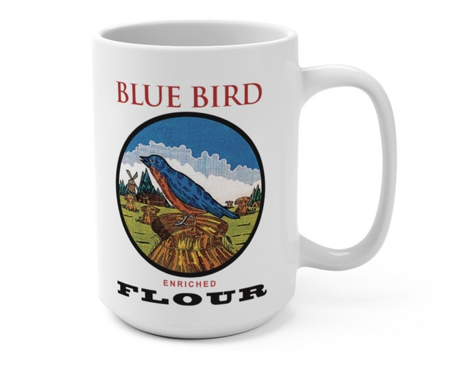Blue Burd Mug 15oz