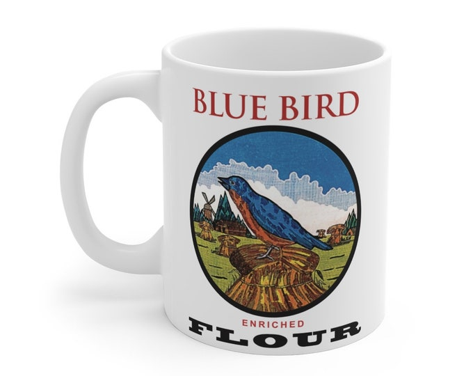 Blue Bird Mug 11oz