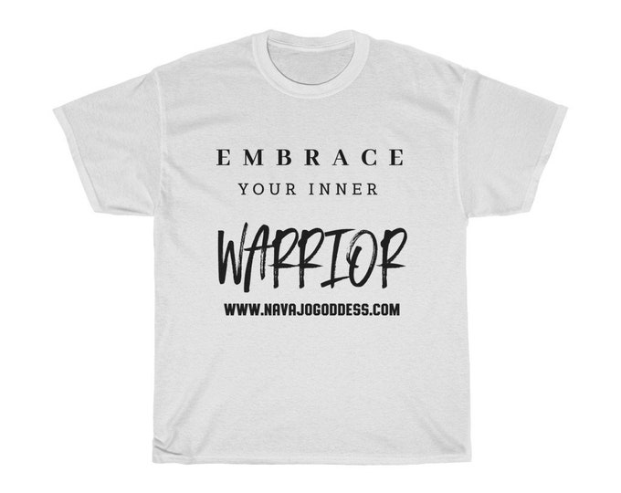 Embrace Your Inner Warrior Unisex Heavy Cotton Tee