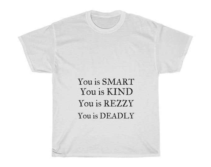 You is Smart Unisex Heavy Cotton Tee