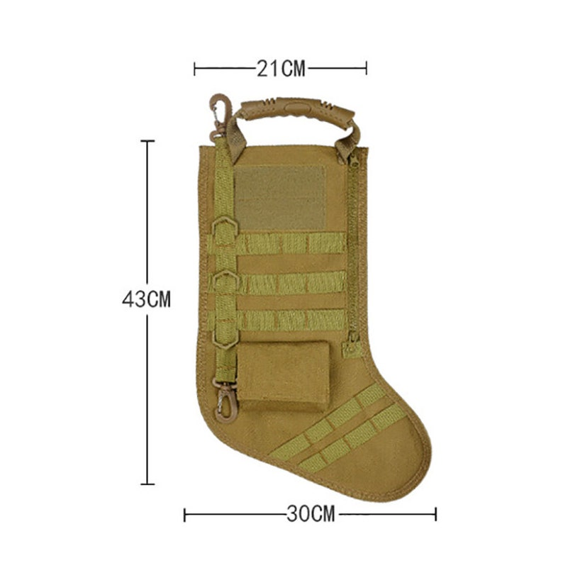 Personalised Tactical Christmas Stocking Christmas Stocking image 4