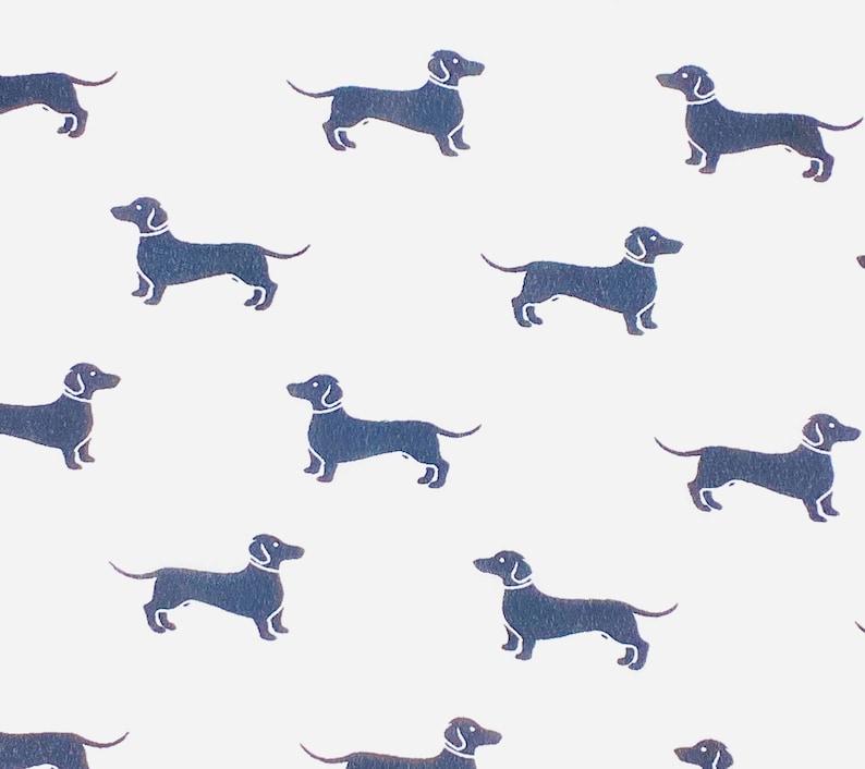 Chiffon Dachshund Dog Scrunchies