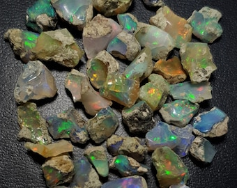 Details about  /100/% NATURAL WELO POWER ETHIOPIAN OPAL ROUGH OPAL TOP QUALITY MOM317