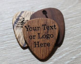 Hand Made Wooden Guitar Picks
