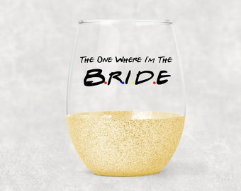Bridal Party Bride and Groom Glitter Dipped Shot Glass Set Wedding Toast Gift Wedding Gift Wedding Party Favors Bridesmaids