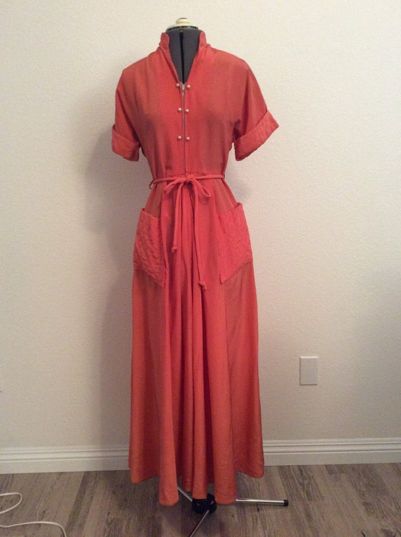 1940's Maxan Robe / Dressing Gown