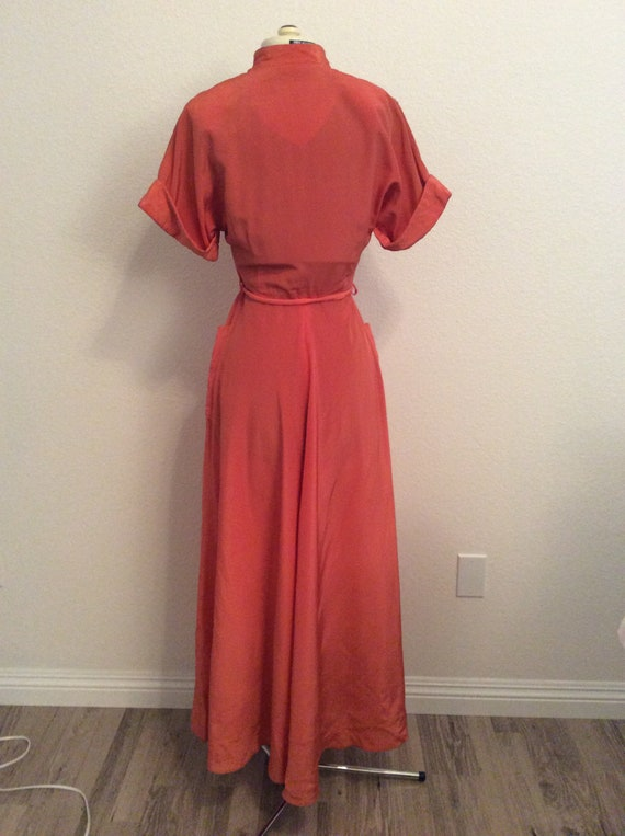 1940's Maxan Robe / Dressing Gown - image 4