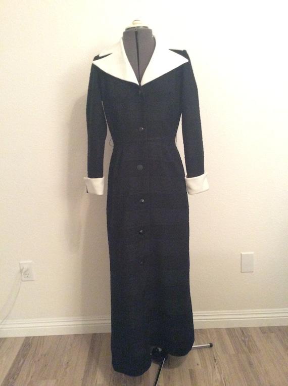 1970's full length dress - image 2