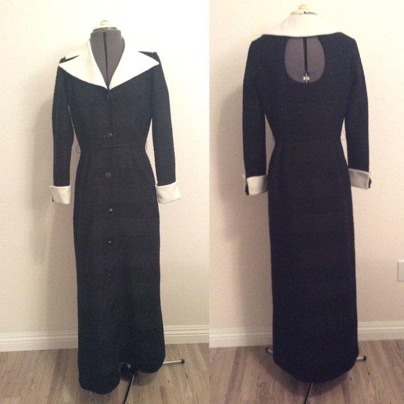 1970's full length dress - image 1