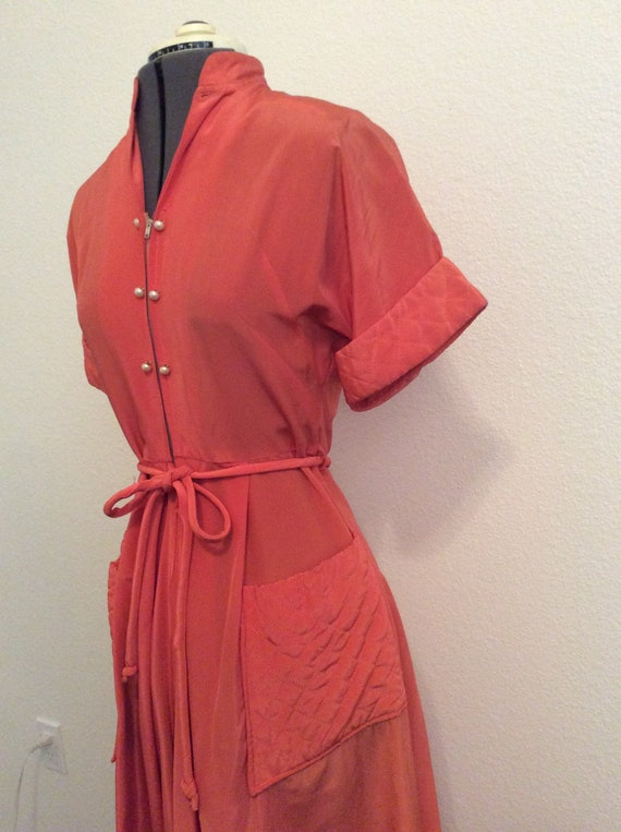 1940's Maxan Robe / Dressing Gown - image 3