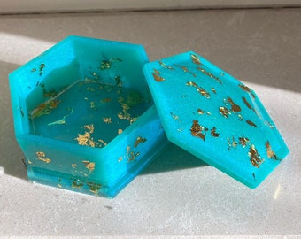 Resin Custom Trinket Boxes