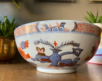Vintage Alcohol Proof Made in Japan Bowl Mid Century Asian Oriental Decor Mildly Triangular Bowl ~ Paper Mache or Plastic ?