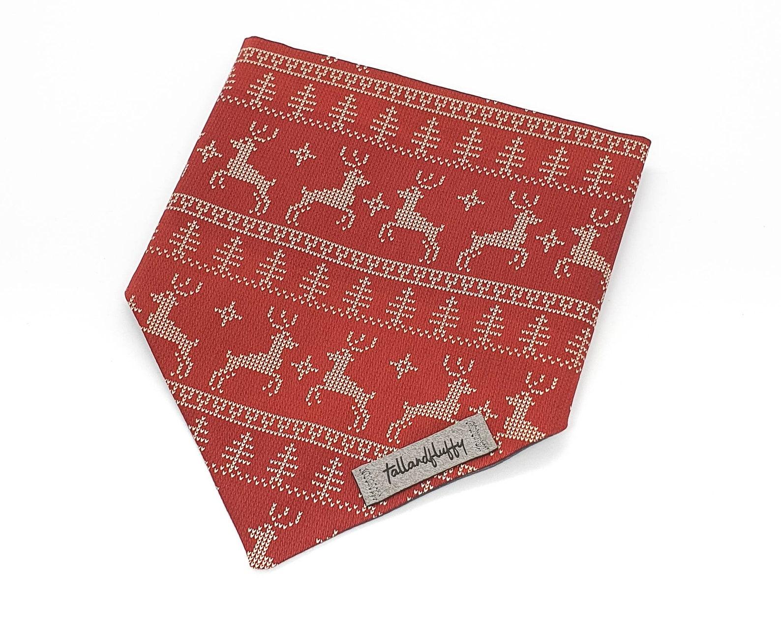 Christmas dog bandana
