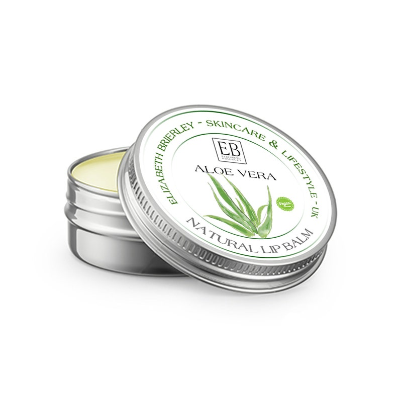Vegan  Natural Lip Balm With Aloe Vera  Fragrance Free  image 0