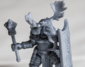 Loxodon Cleric Dnd Miniature