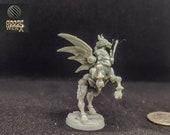 Spirit Guardian Pegasus Construct:  a Dnd Miniature