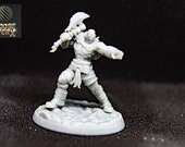 Garath Smartkiller Ogolanathi:  a Dnd 3d Printed Resin Miniature