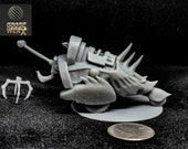 Scavenger Vehicle from Baldurs Gate: Descent into Avernus Dnd Miniature