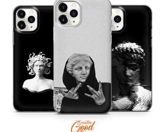 Aesthetic Phone Case Medusa Art for iPhone 12 Pro Max Case, iPhone 11 Case, iPhone XR, iPhone XS Max Case, iPhone 8 Plus Case, iPhone 7 Case
