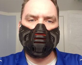 Doom-esque filtered mask