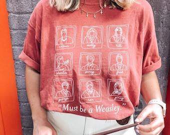 Weasley Family Polaroid Tee