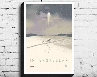 Interstellar Poster Etsy