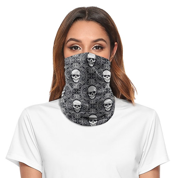 UK Balaclava Cycling Neck Tube Scarf Snood Bike Face Mask Bandana Multi-Use