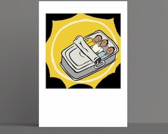 Beastie Boys - Hello Nasty - Album Artwork Print – Music Poster- Illustrated Wall Art - Home Decor- A4,12 Inch, 7 Inch. Pango Tango