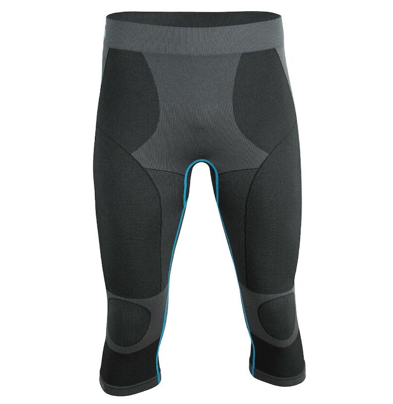Seamless Functional Capri Biking shorts Mens 34 Workout Shorts Baselayer Compression Running Boxing Shorts