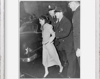 Photo: Lolita Lebron   Puerto Rican Nationalist Leader   1954   Historic Photo Reproduction