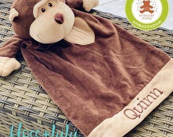 EB Embroider Buddy Monkey 20 Inch Blankey