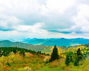 Fall Colors in the Blue Ridge Mountains